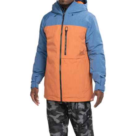 Burton [ak] Helitack Gore-Tex® Snowboard Jacket - Waterproof, Insulated (For Men) in Boro/Adobe - Closeouts